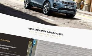 Présentation gamme - Création de site internet pour les Concessions Automobiles