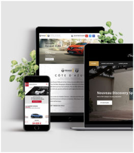 Création de site internet pour les Concessions Automobiles