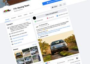 Réseaux Sociaux - Création de site internet pour les Écuries Automobiles