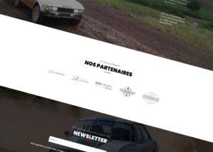 Sponsors - Création de site internet pour les Écuries Automobiles