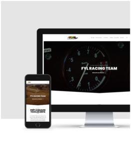 Création de site internet pour les Écuries Automobiles
