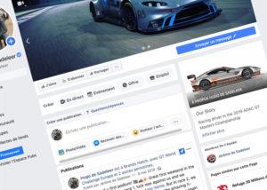 Réseaux Sociaux - Création de site internet pour les Pilotes Automobiles