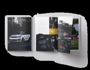 Création de Magazine pour Concessions Automobiles