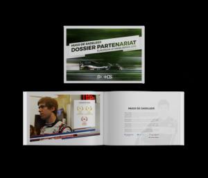 Création de Magazine pour Pilotes Automobiles