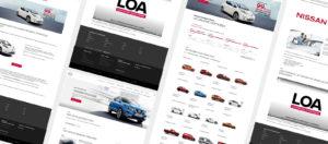 Création de site internet - Constructeurs Automobiles