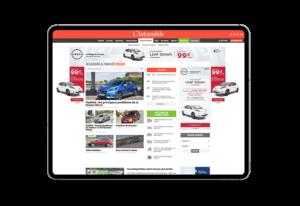 Publicité Display Constructeur Automobile